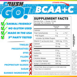 Crush GO! BCAA Nutrition Facts