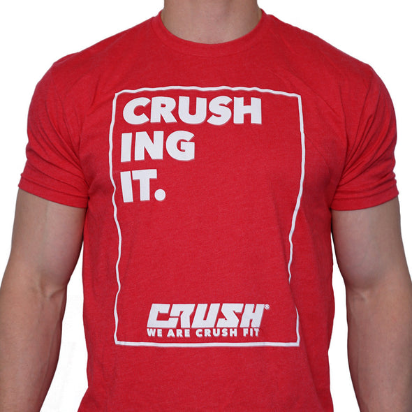 Crush Fit Crushing It Tee Tyler Friedrich