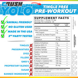 Crush YOLO Pre-Workout Details