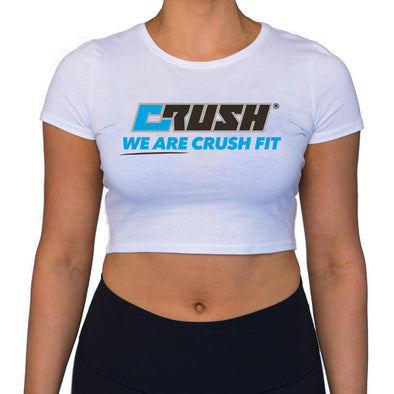 crush fit logo crop tee Crush Fitness Aubrey Nolan