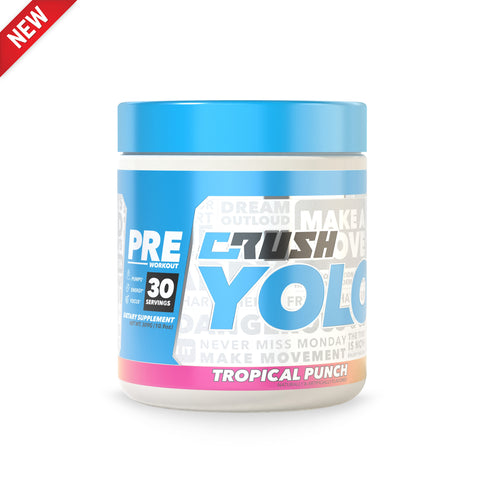 Crush YOLO® Pre-Workout
