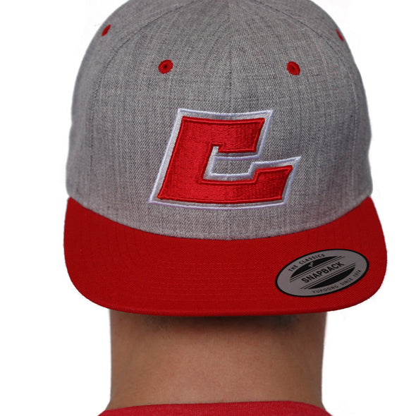 Crush Fit Snapback Red