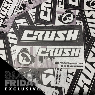 CRUSH CHICAGO STICKER SHEET