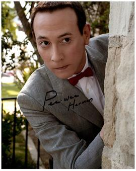 PEE WEE HERMAN signed autographed photo COA