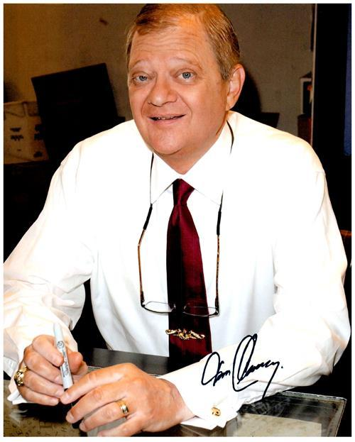 TOM CLANCY signed autographed photo COA