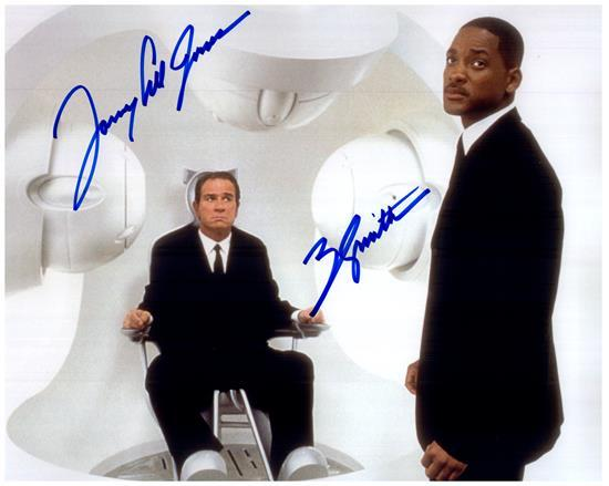 MEN IN BLACK CAST WILL SMITH signed autographed photo COA