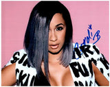 CARDI B signed autographed photo COA