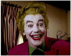 CESAR ROMERO signed autographed photo COA