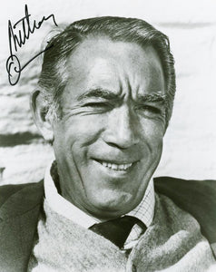 ANTHONY QUINN signed autographed photo COA