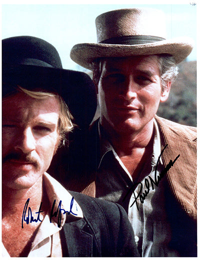 BUTCH CASSIDY AND THE SUNDANCE KID  signed autographed photo COA