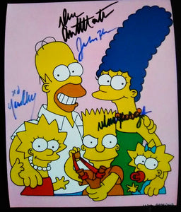 THE SIMPSONS signed autographed photo COA