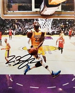 LeBron James  signed autographed photo COA