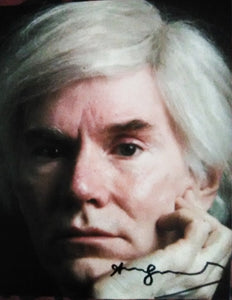 ANDY WARHOL signed autographed photo COA