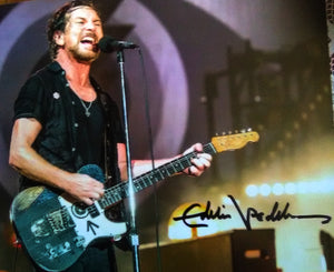 EDDIE VEDDER signed autographed photo COA