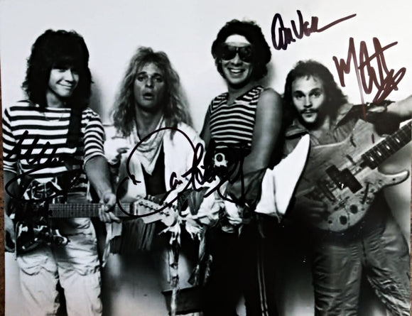 VAN HALEN signed autographed photo COA