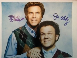 STEP BROTHERS CAST FERRELL RILEY signed autographed photo COA