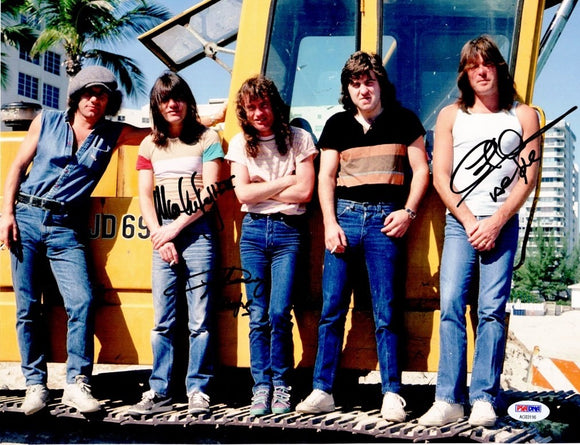 AC/DC BAND signed autographed photo COA
