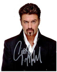 GEORGE MICHAEL Signed autographed Photo COA