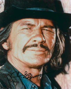 CHARLES BRONSON signed autographed photo COA
