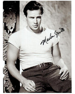 MARLON BRANDO signed autographed photo COA