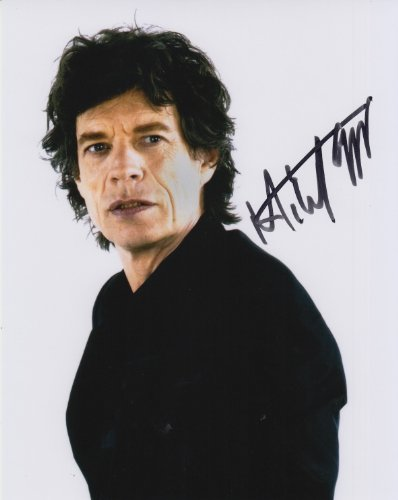 MICK JAGGER signed autographed photo COA