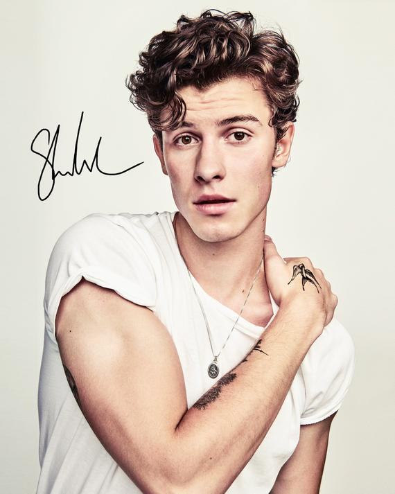 SHAWN MENDES signed autographed photo COA