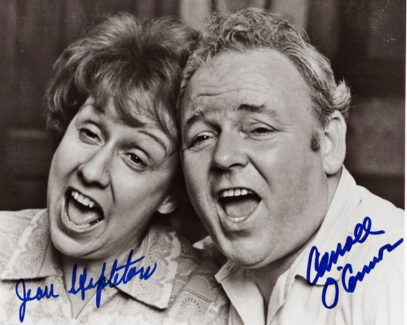 ALL IN THE FAMILY Cast signed autographed photo COA