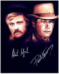 THE SUNDANCE KID CAST signed autographed photo COA