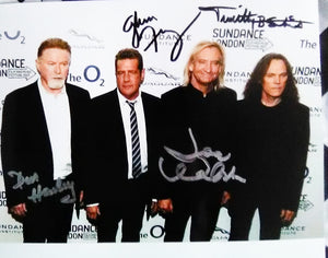 THE EAGLES BAND signed autographed photo COA