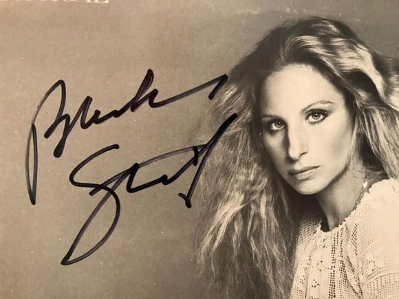 BARBRA STREISAND signed autographed photo COA