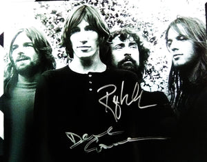 ROGER WATERS DAVID GILMOUR signed autographed photo Pink Floyd  COA