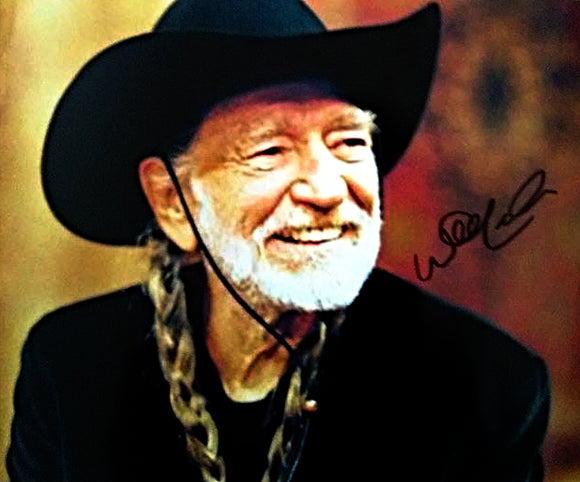 WILLIE NELSON signed autographed photo COA
