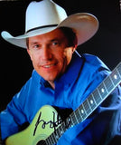 GEORGE STRAIT signed autographed photo COA