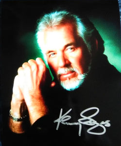 KENNY ROGERS signed autographed photo COA