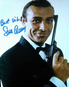 SEAN CONNERY signed autographed photo COA