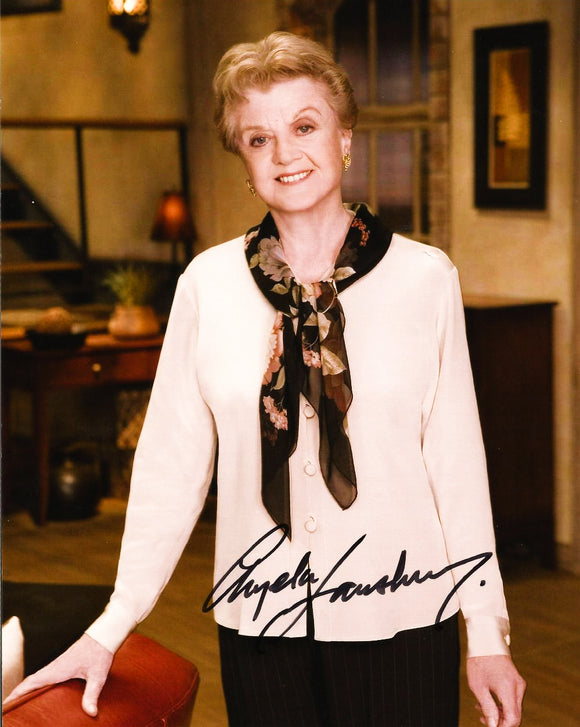 ANGELA LANSBURY signed autographed photo COA
