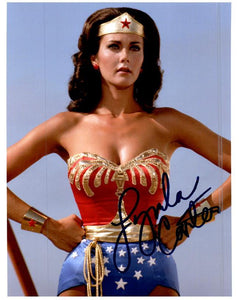 LYNDA CARTER WONDER WOMAN signed autographed photo COA