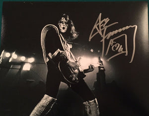 ACE FREHLEY signed autographed photo COA