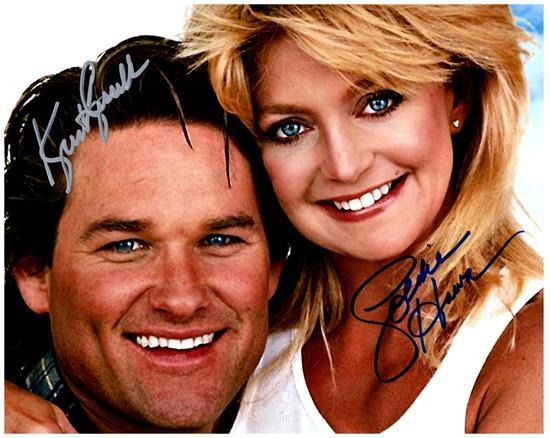 OVERBOARD CAST GOLDIE HAWN signed autographed photo COA