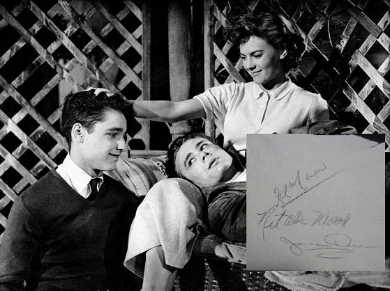 REBEL WITHOUT A CAUSE CAST signed autographed photo COA