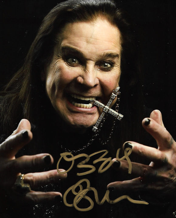 OZZY OSBOURNE signed autographed photo COA