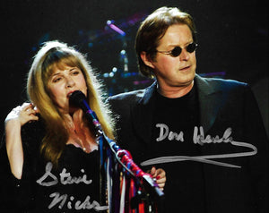 STEVIE NICKS DON HENLEY signed autographed photo COA