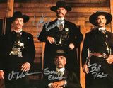 TOMBSTONE CAST  Signed autographed Photo COA Val Kilmer