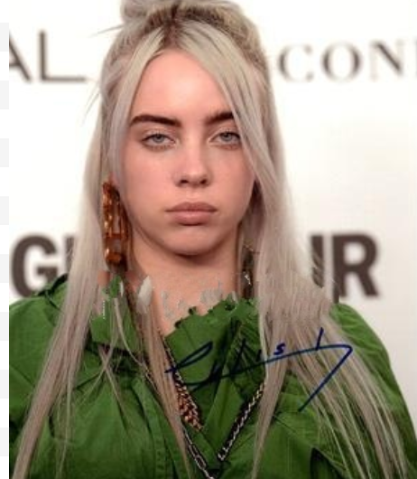 BILLIE EILISH signed autographed photo COA