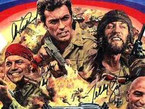 KELLY'S HEROES cast signed autographed photo COA