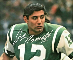 JOE NAMATH signed autographed photo COA