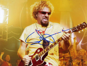 SAMMY HAGAR signed autographed photo COA