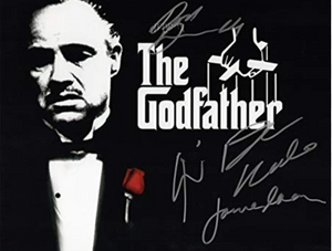 THE GODFATHER CAST signed autographed photo COA