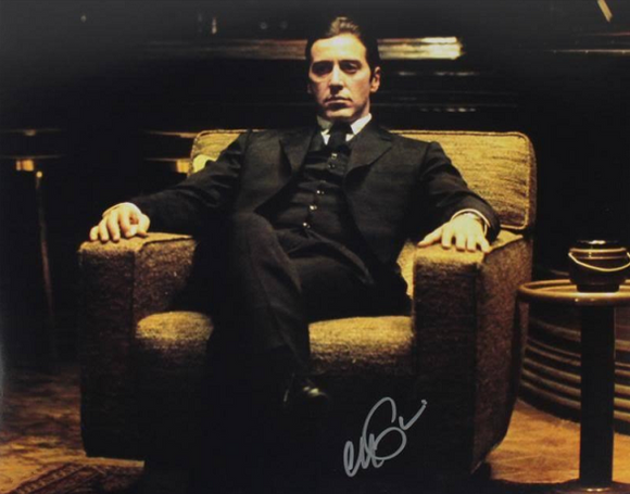 AL PACINO The God Father signed autographed photo COA