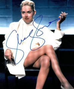 SHARON STONE signed autographed photo COA